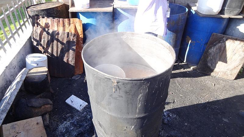 Bierproduktion in Kayamandi