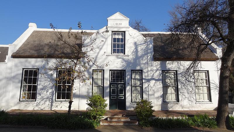 Kolonialhaus in Stellenbosch