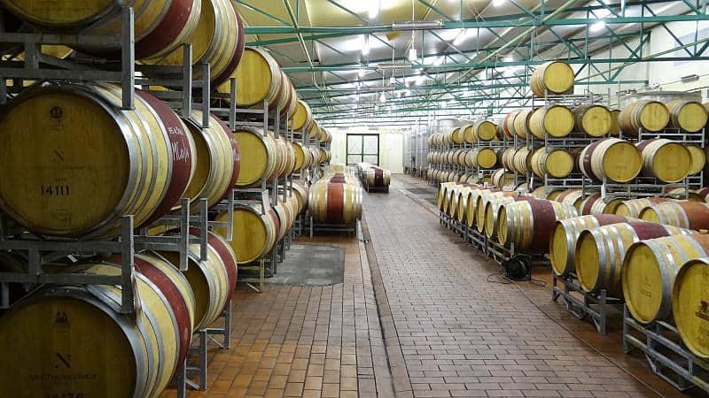Weinlager des Neethlingshofs