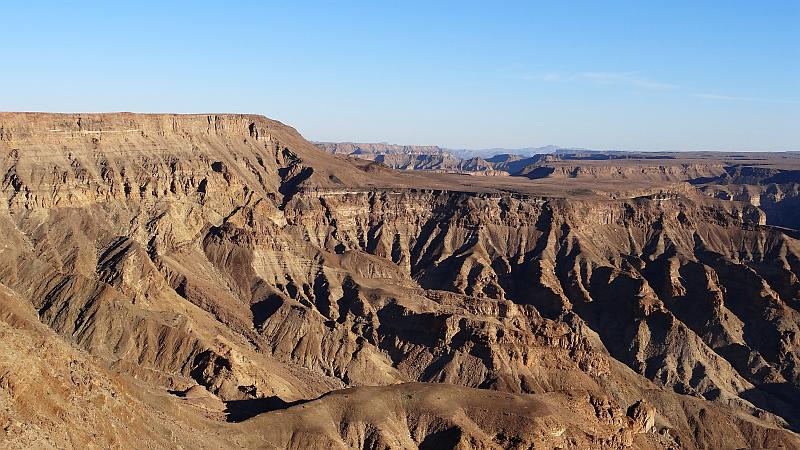 Aussicht am Fish River Canyon - reiseblitz.com