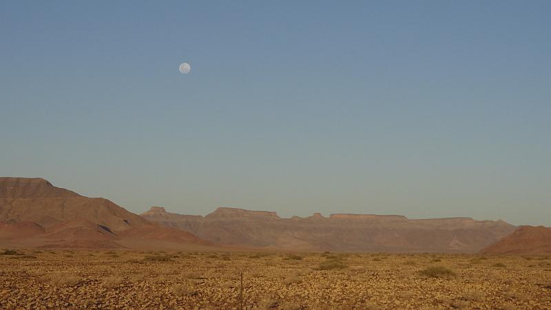 Gebirgslandschaft in Hardap