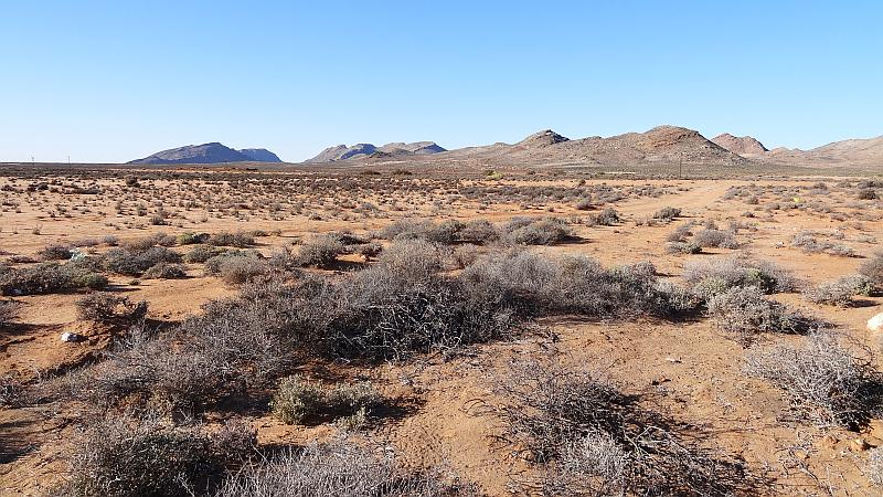 Landschaft Northern Cape