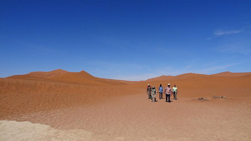 Fußweg zum Deadvlei