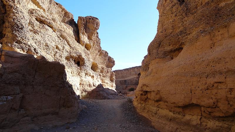 Sesriem Canyon von unten