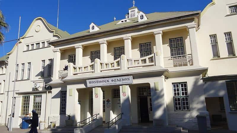 Hauptbahnhof in Windhoek