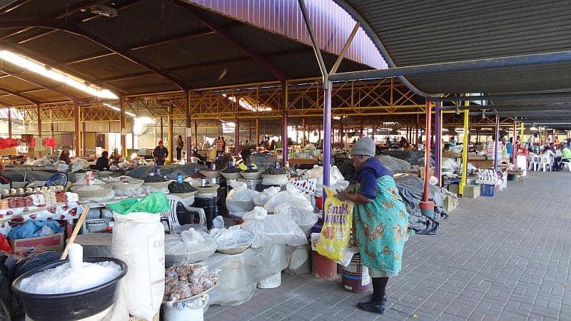 Oshetu-Markt in Windhoek