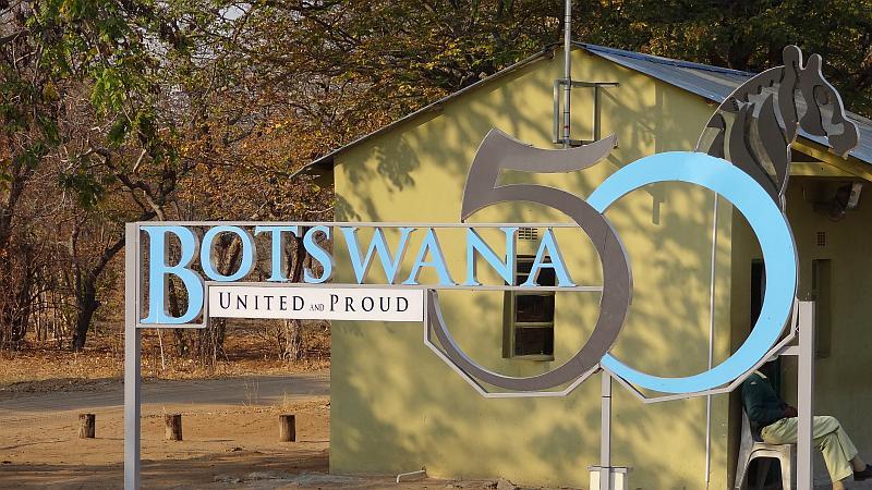 50-Jahr-Feier in Botswana