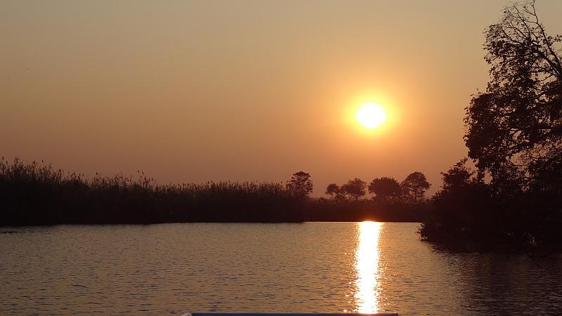 Sonnenaufgang im Bwabwata-Nationalpark
