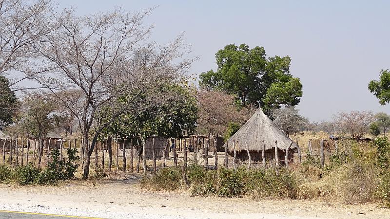 Palisadendorf in Kavango