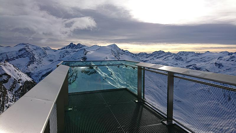 Verlängertes Wochenende in Zell am See - Gipfelwelt 3000 Aussichtsplattform