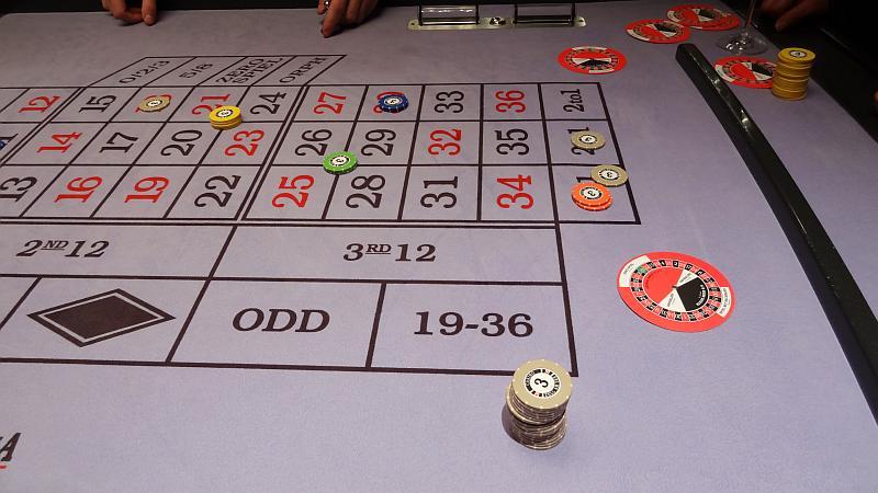 Verlängertes Wochenende in Zell am See - Roulettetisch im Casino Zell am See