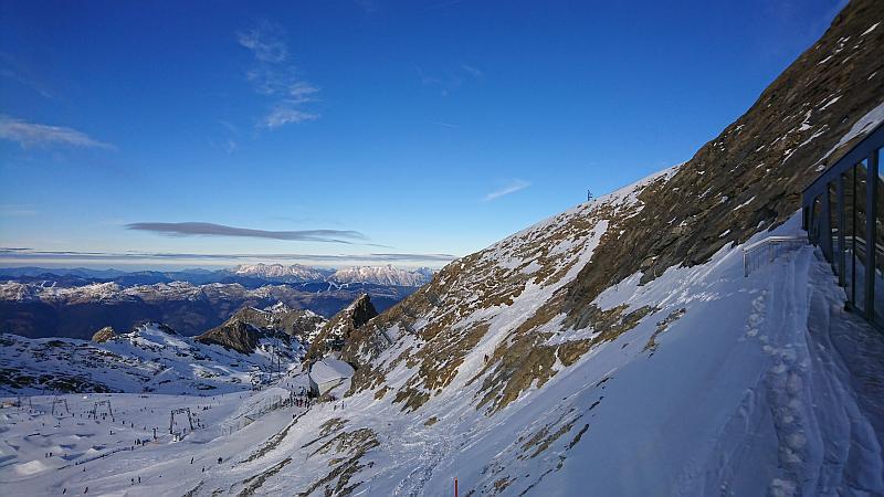 Verlängertes Wochenende in Zell am See - Ausblick vom Kitzsteinhorn