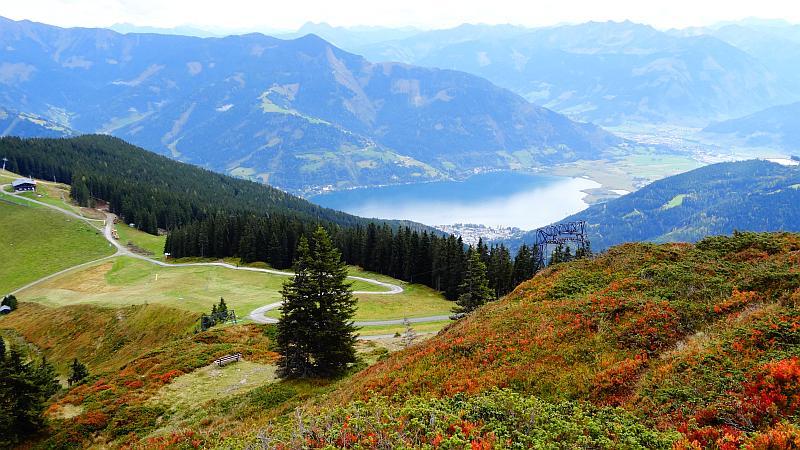 Verlängertes Wochenende in Zell am See - Herbstfarben auf der Schmittenhöhe