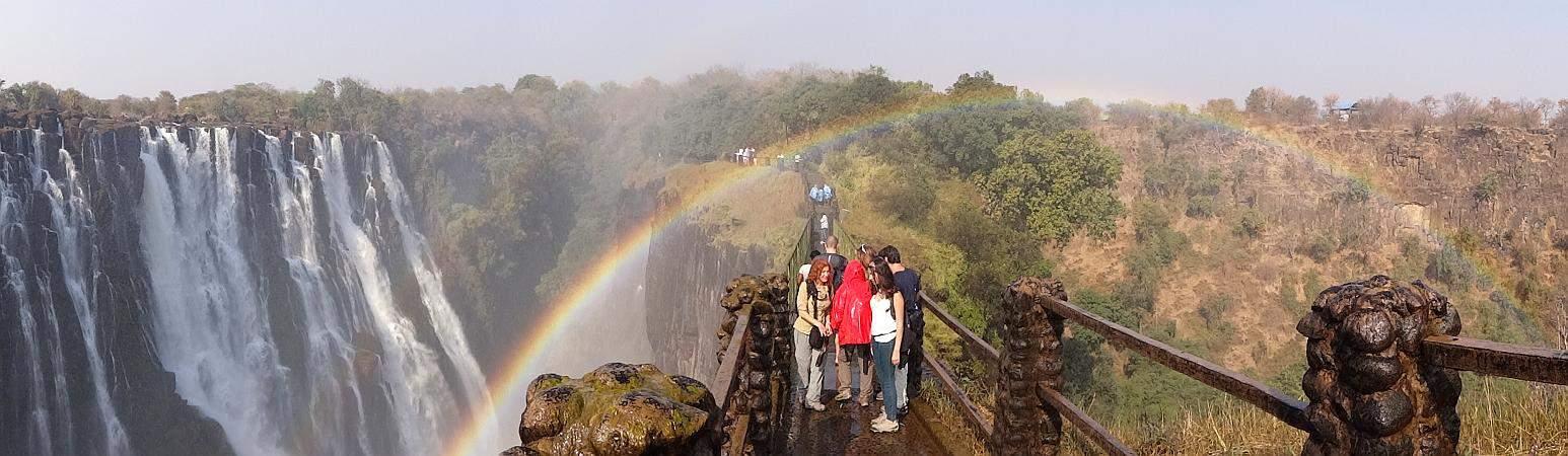 Regenbogen Victoria-Fälle