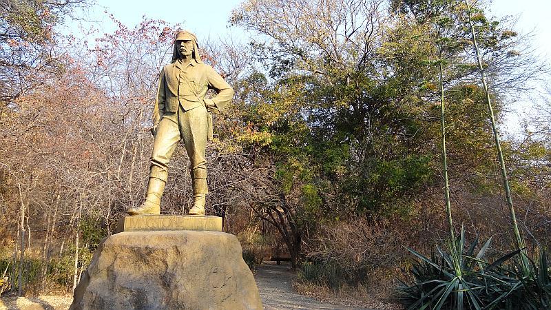 David Livingstone, Entdecker der Victoria-Fälle