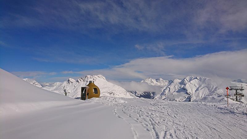 Neuschnee in Lech - Ski Arlberg