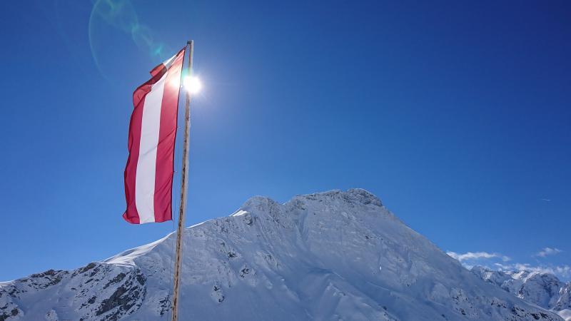 Sonnenschein in Warth - Ski Arlberg