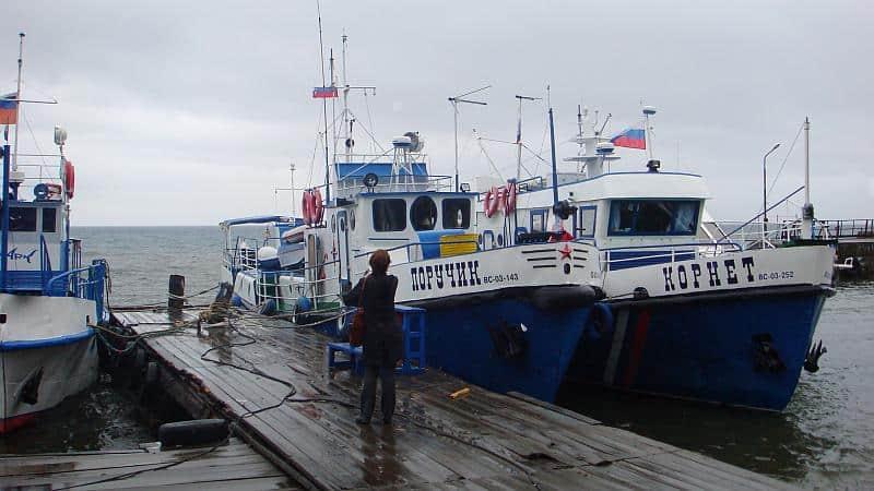 Schiffe am Baikalsee, Schöne Reiseziele