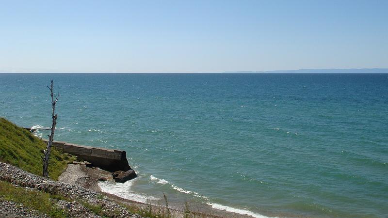 Blick auf den Baikalsee, Schöne Reiseziele