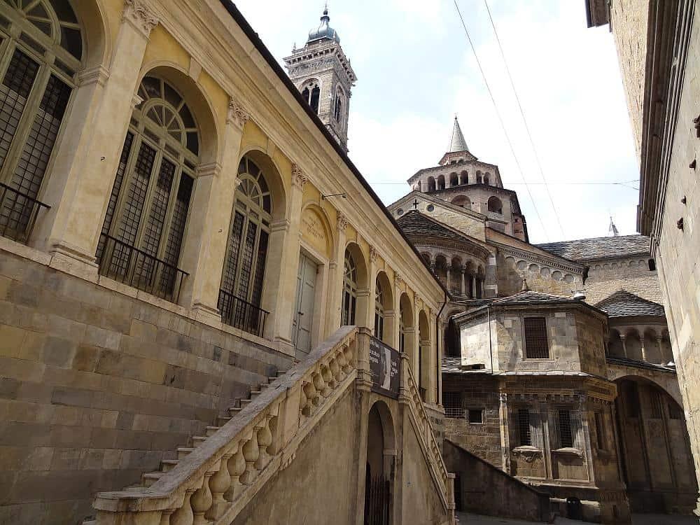 Bergamo Altstadt - Roadtrip Italien
