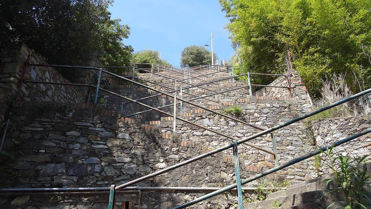 Scalinata Lardarina - Cinque Terre an einem Tag