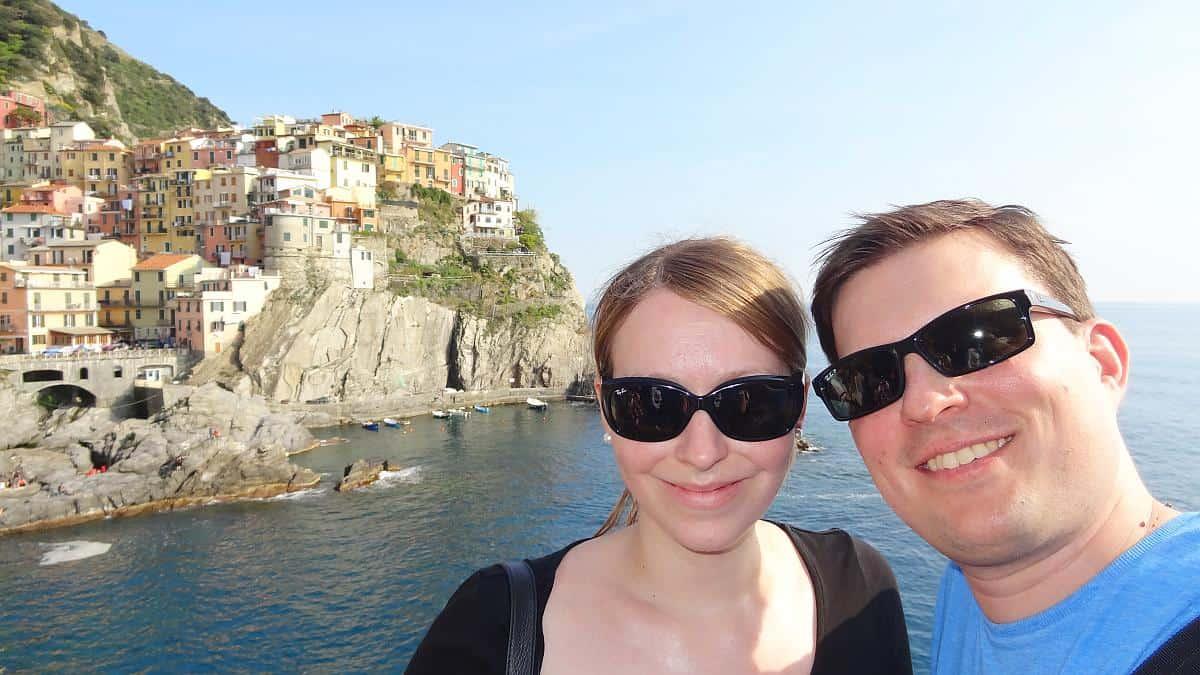 Cinque Terre Selfie - Cinque Terre an einem Tag