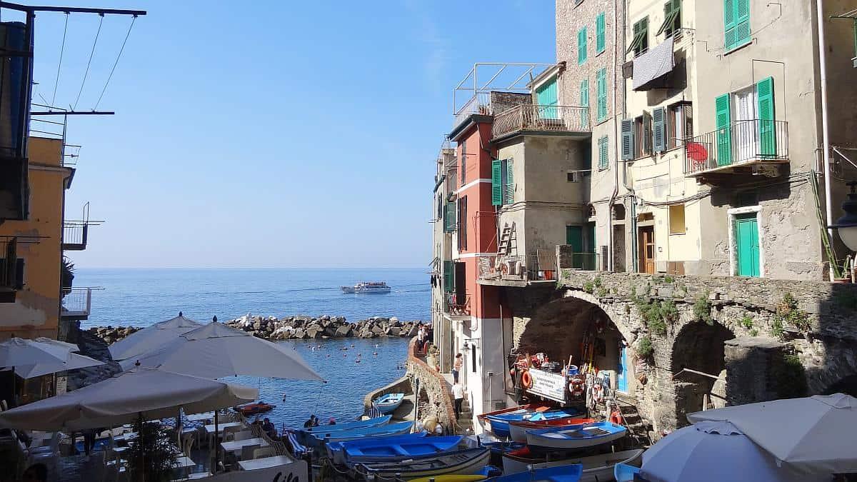 Riomaggiore Meerblick - Cinque Terre an einem Tag