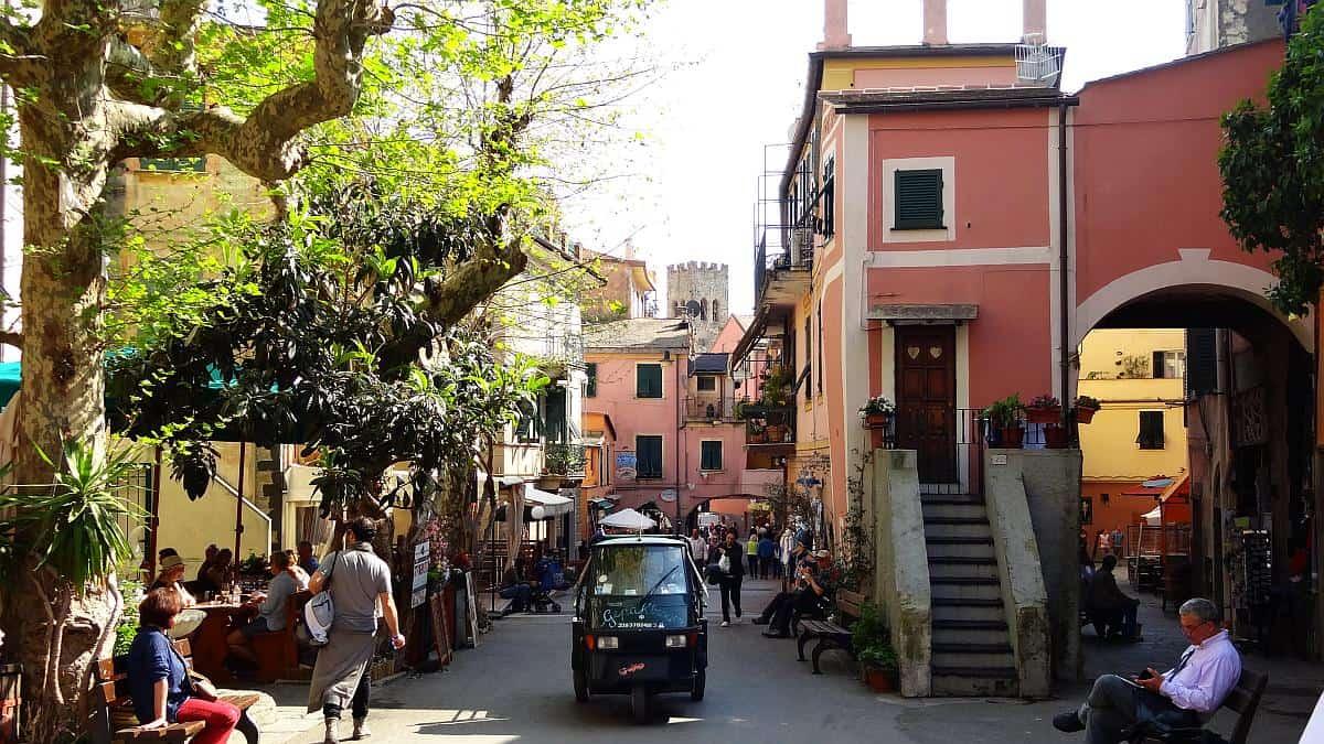 Monterosso Zentrum - Cinque Terre an einem Tag