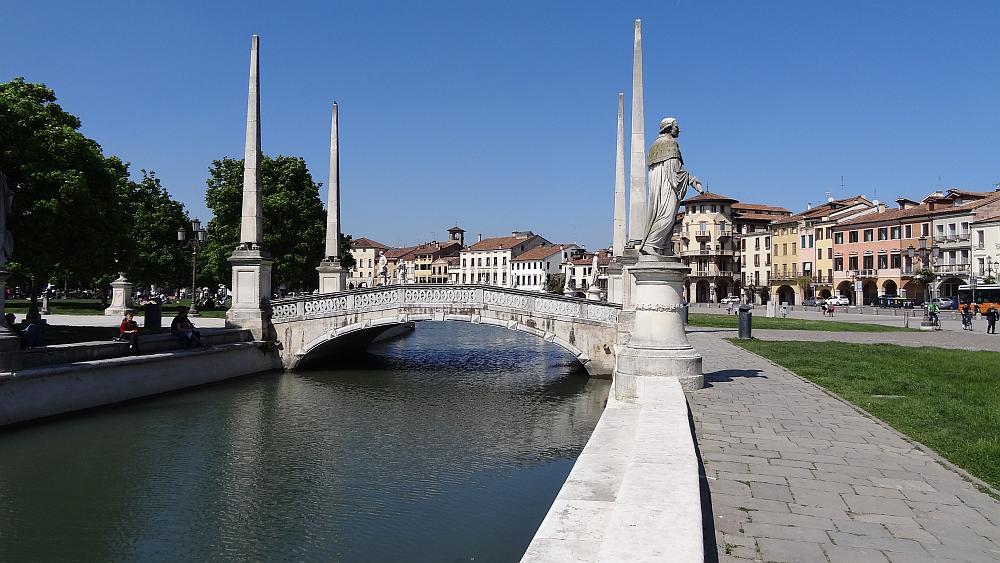 Prato della Valle Padua - Roadtrip Italien