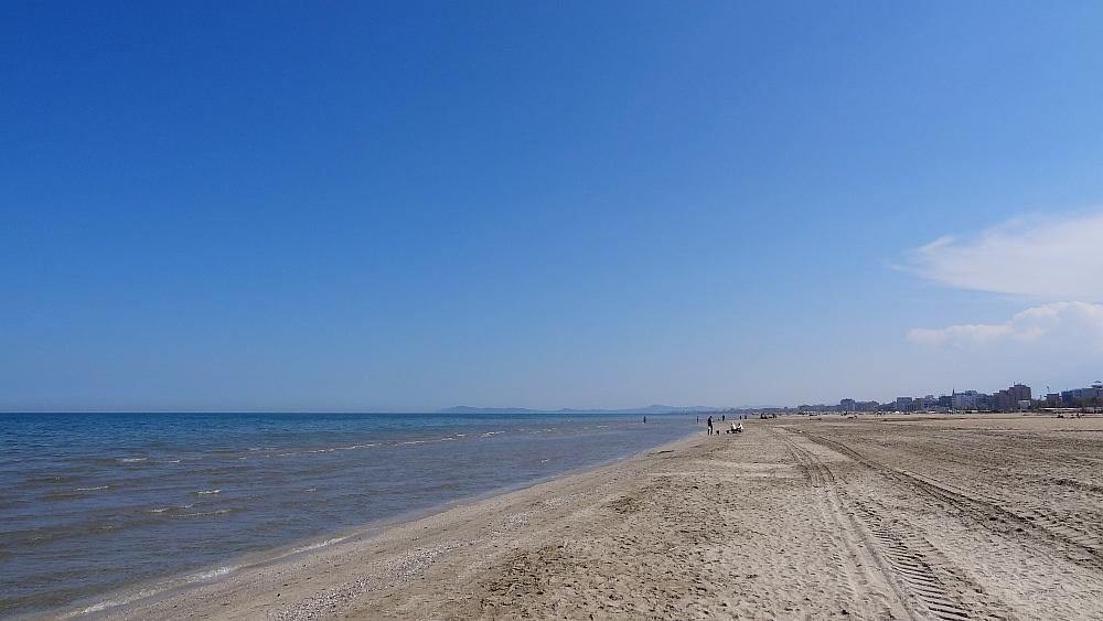 Strand Rimini - Roadtrip Italien