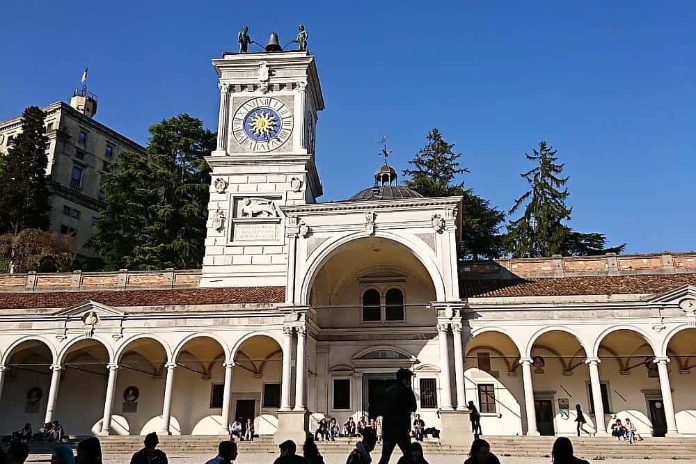 Piazza della Libertà Udine - Roadtrip Italien