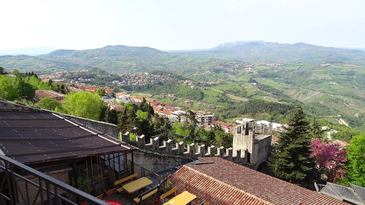Stadtmauer San Marino