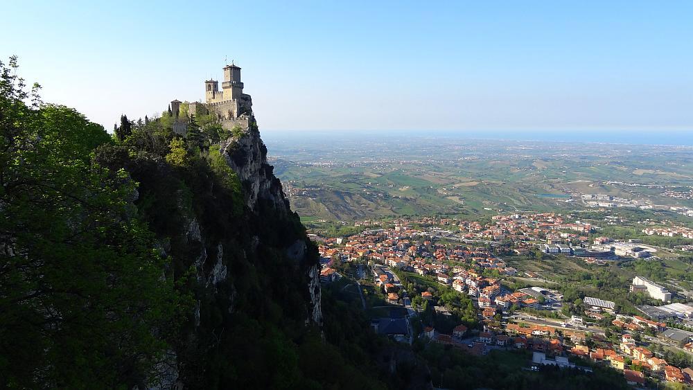 Castello della Guaita San Marino - Roadtrip Italien