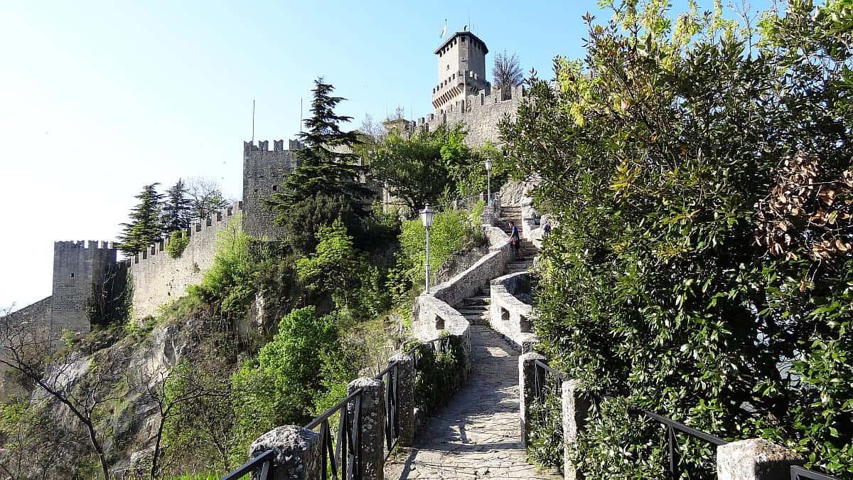 Rocca Guaita in San Marino