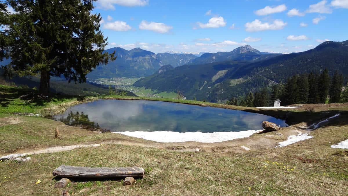Aussicht Zwieselalm - Seen im Salzkammergut