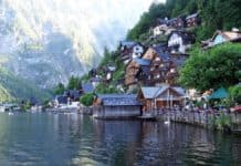 Hallstatt Uferpromenade - Seen im Salzkammergut