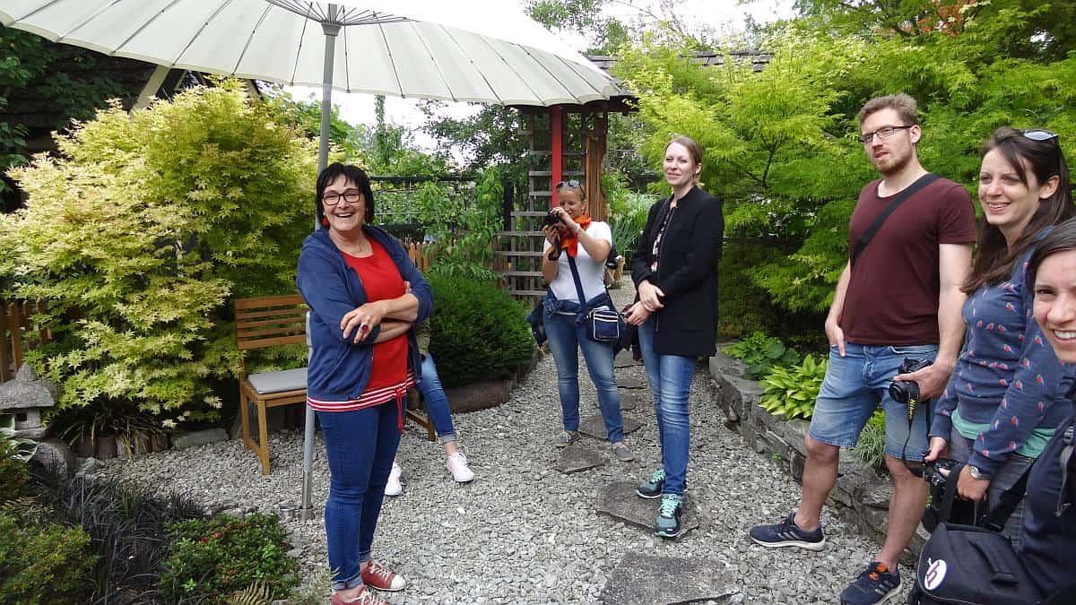 Frau Weber, Rainbow's End - Gartenregion Tulln