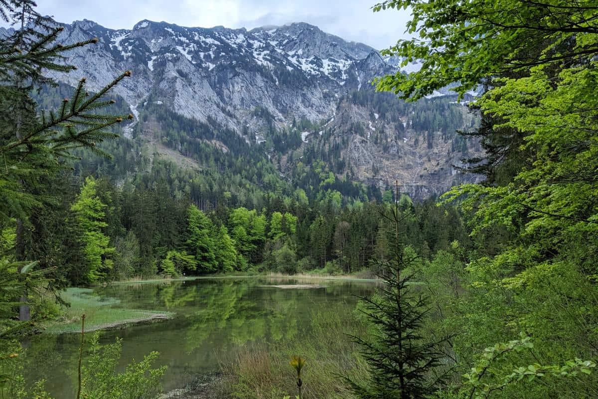 Bergpanorama am Taferlklaussee