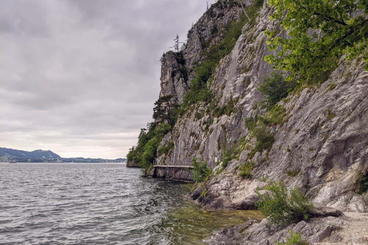 Steilklippe am Miesweg