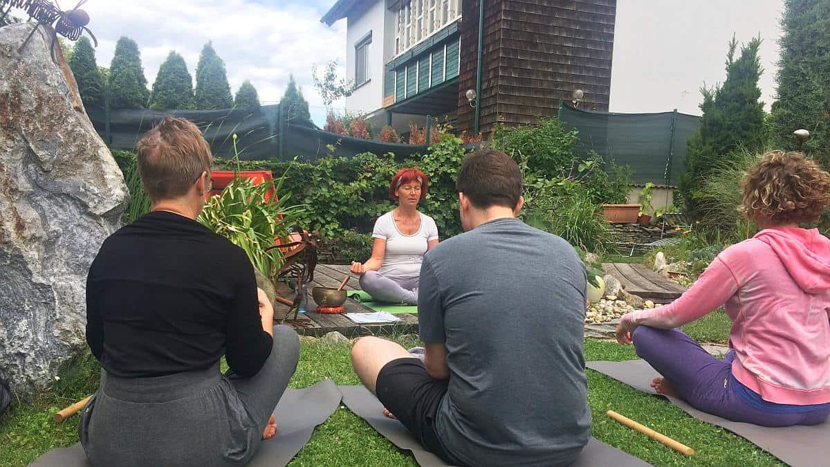 Yoga im Garten - Gartenregion Tulln