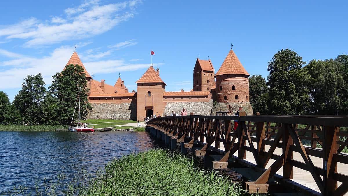 Wasserburg Trakai - Roadtrip durchs Baltikum