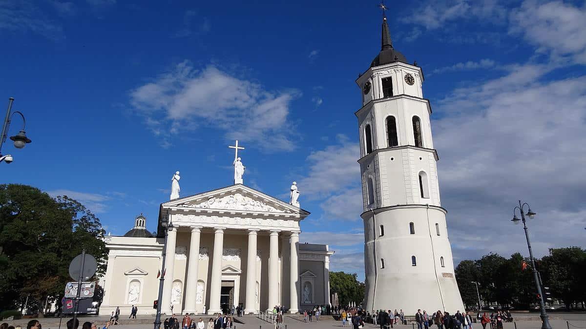 Kathedrale Vilnius - Roadtrip durchs Baltikum