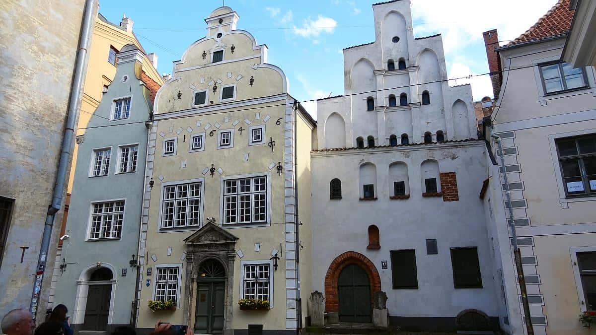Drei Brüder - Riga an einem Tag