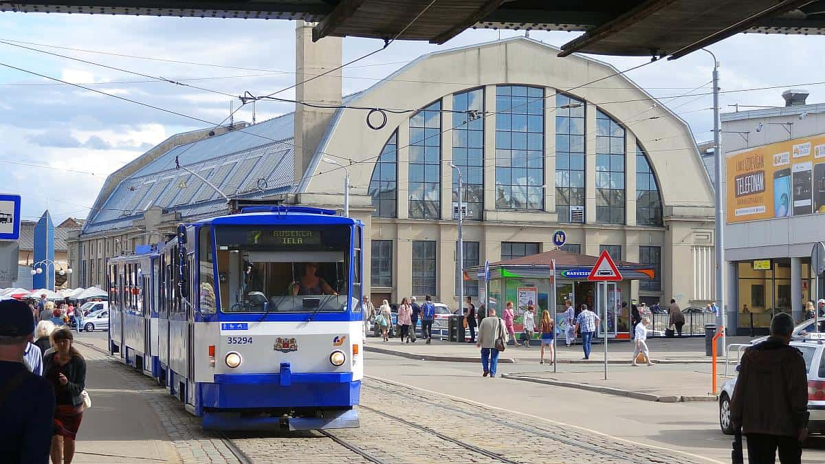 Markthalle Zentralmarkt - Riga an einem Tag