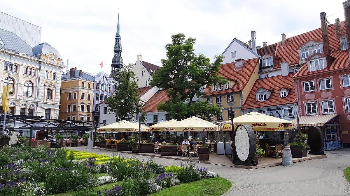 Livenplatz - Riga an einem Tag