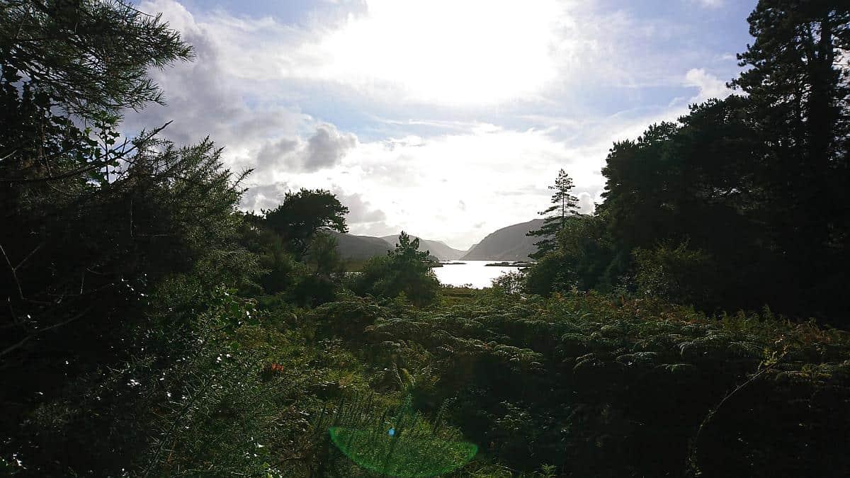Seeblick im Glenveagh National Park