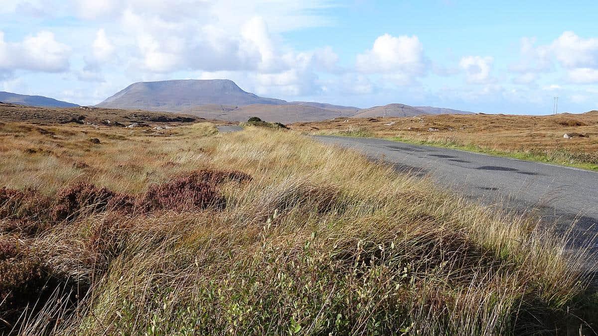 Hochebene in Donegal