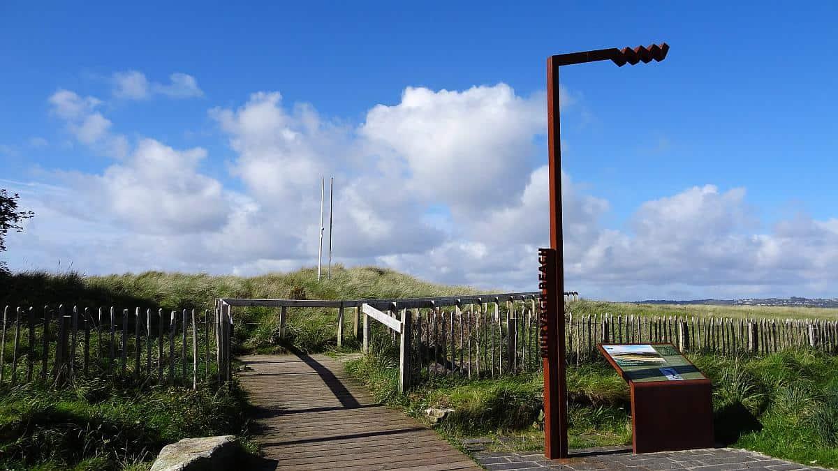 Eingang zum Murvagh Beach