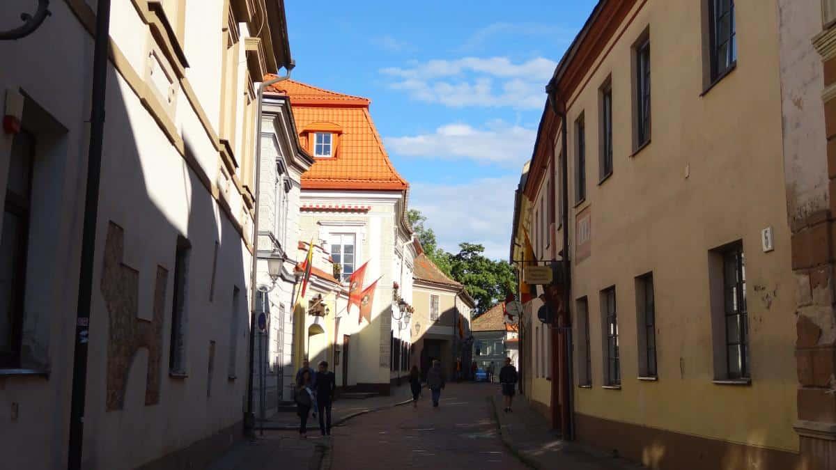 Altstadtgässchen in Vilnius