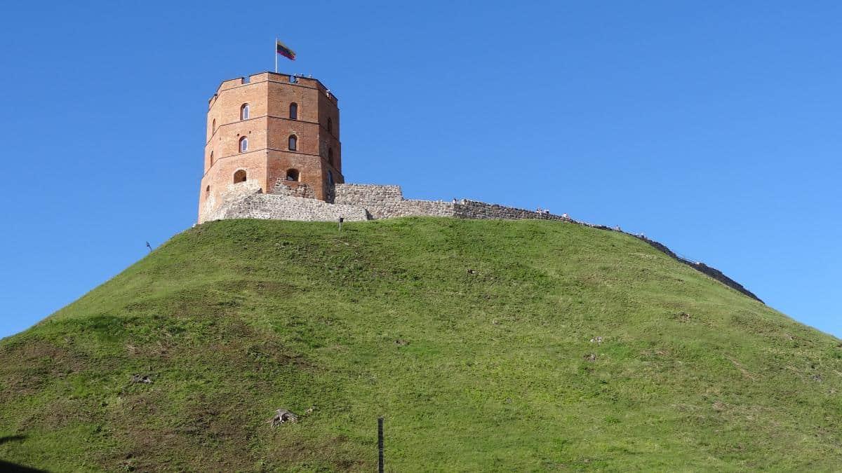 Gediminas-Turm - Altstadt Vilnius
